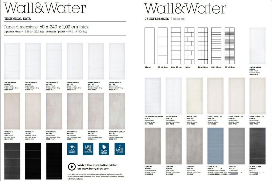 Eye Works Curacao Berry Alloc Walls Bathroom Wall Overiew 0
